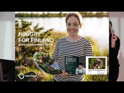 Ruokamatkailun suosio kasvussa - Visit Finland matkailuyrittäjän tukena  - Terhi Hook, Visit Finland