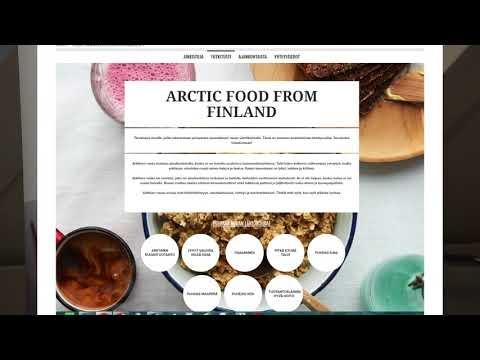Arktisuuskonseptin esittely sekä testaustuloksia - Eeva Heikkilä, Ruokatieto Yhdistys ry.